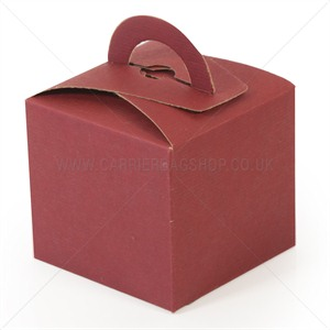 Mini Gift Boxes Burgandy