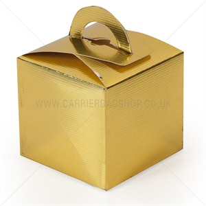 Mini Gift Boxes Gold