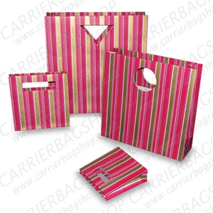 Far Out Stripe  Designer Gift Bags