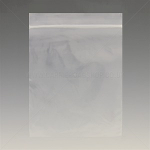 Standard Plain Resealable Bags (Grip Seal Bags)