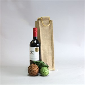 One Bottle Jute Bags