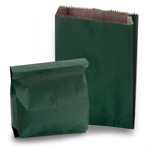 Clearance Green Heavyweight Kraft Paper Bags
