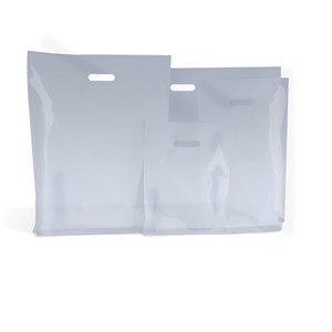 Clear Standard Grade Plastic Carrier Bags