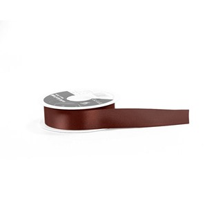 Burgundy Double Satin Ribbon [405]