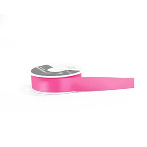 Shocking Pink Double Satin Ribbon [402]