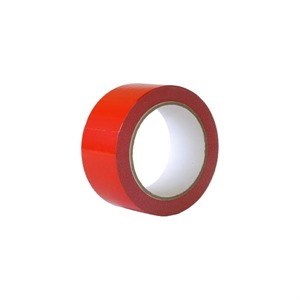 Red PVC Packing Tape