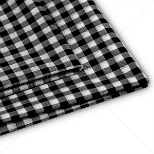 Black Gingham Design Premium Tissue Paper