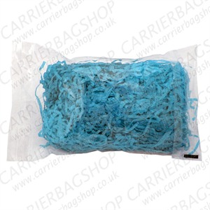 Shredded Turquoise Coloured Premium Tissue Paper