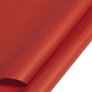 Red Coloured Standard Tissue Paper