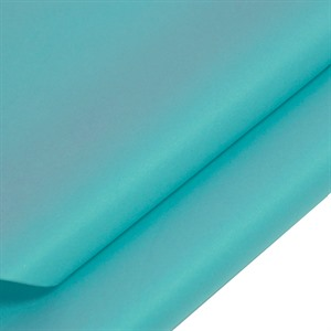 Turquoise Coloured Standard Tissue Paper