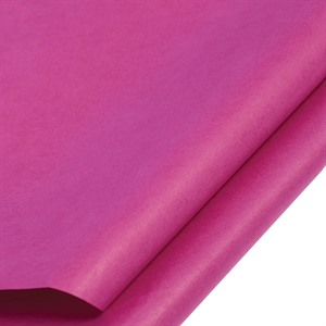 Shocking Pink Coloured Standard Tissue Paper