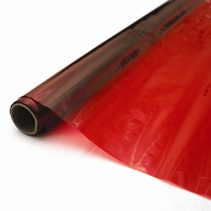 Red Cellophane Rolls