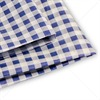 Blue Gingham Design Premium Tissue Paper