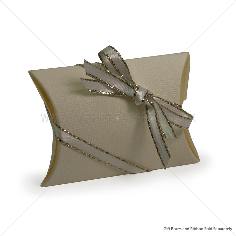 Ivory Silk Pillow Gift Box