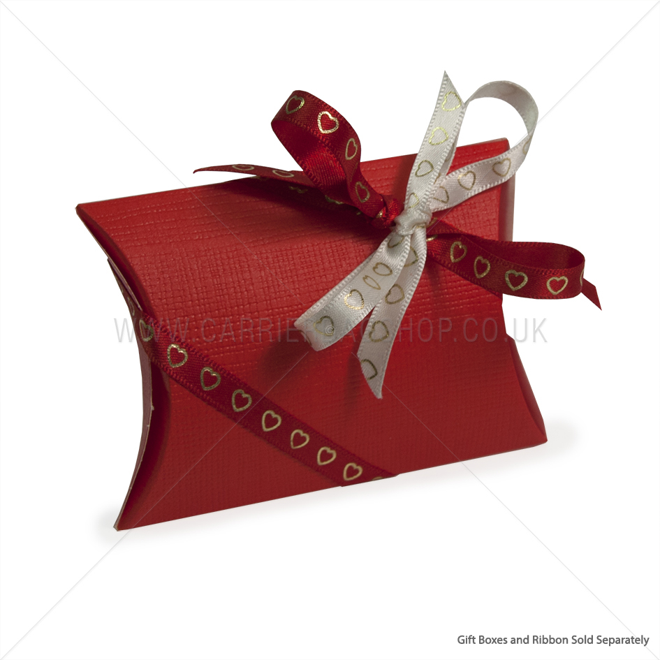 Red Silk Pillow Gift Box