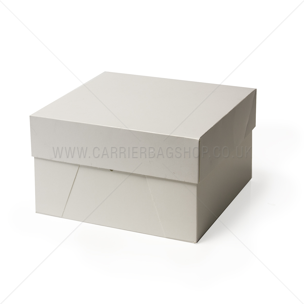 White Cake Boxes With Lids Catering Disposables