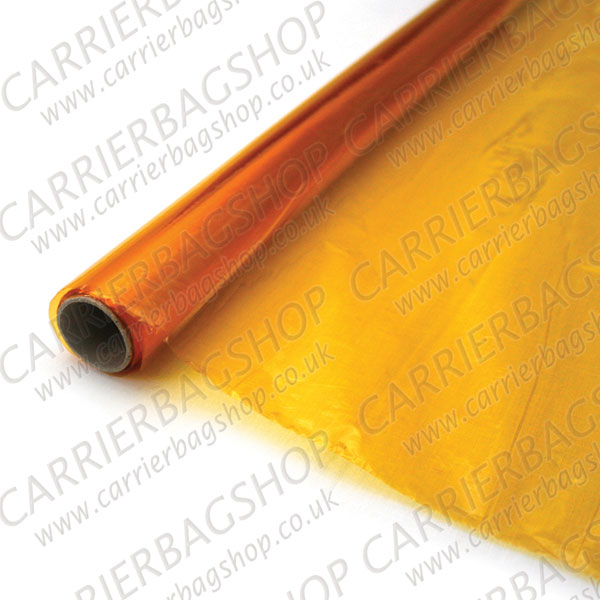 Yellow Cellophane Rolls From Carrier Bag Shop Supplier Of