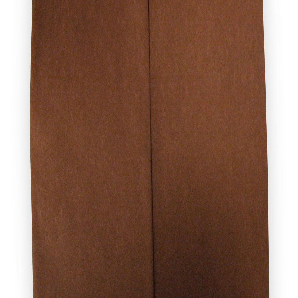 Chocolate Brown Crepe Paper Folds From Carrier Bag Shop