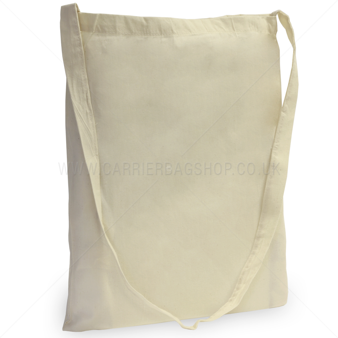 Natural Unbleached Cotton Sling Tote Bag from Carrier Bag Shop ...