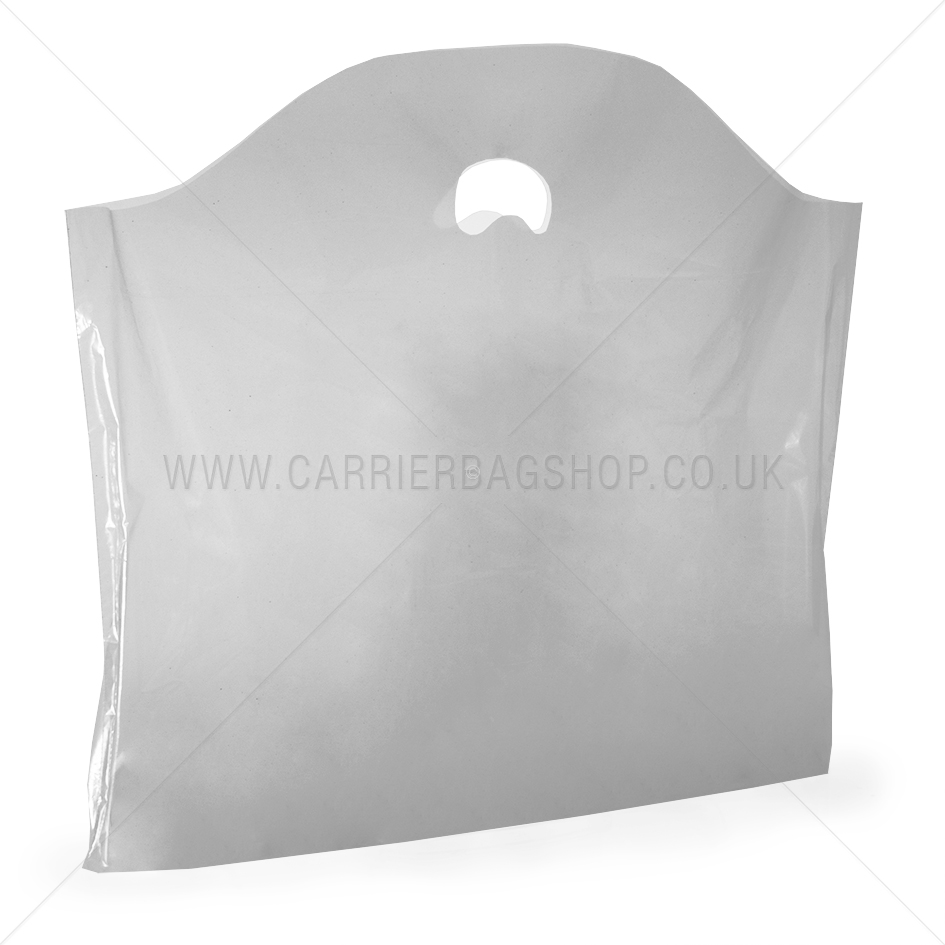 Clear Recycled Biodegradable Plastic Carrier Bags From
