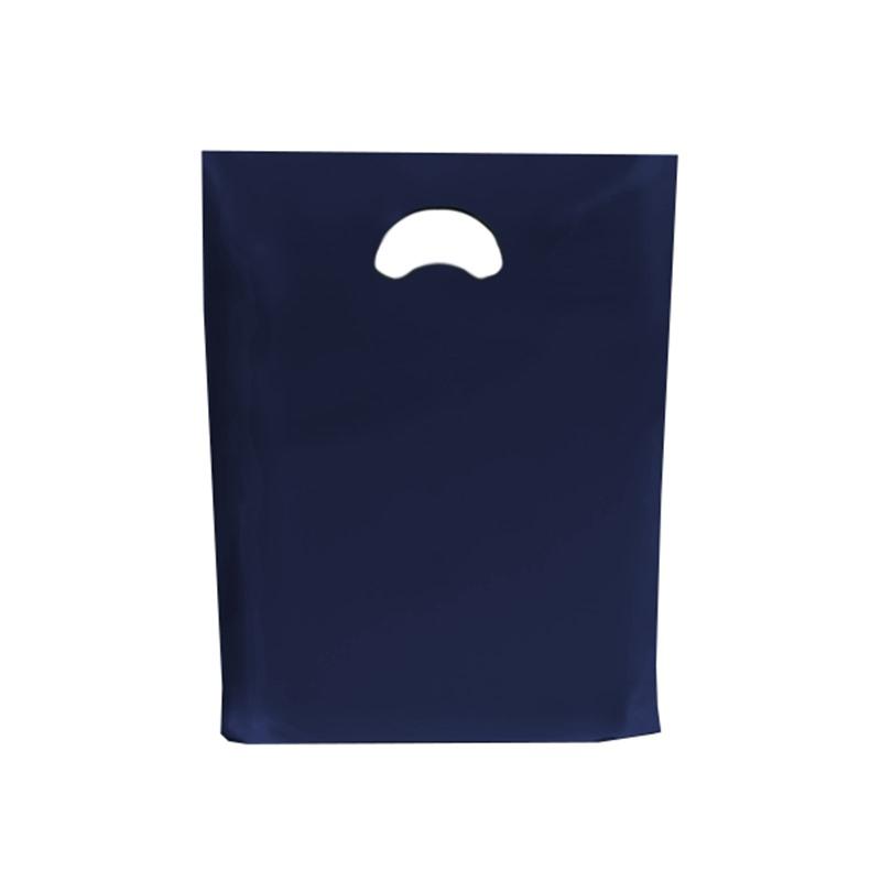 Navy Blue Standard Grade Plastic Carrier Bags