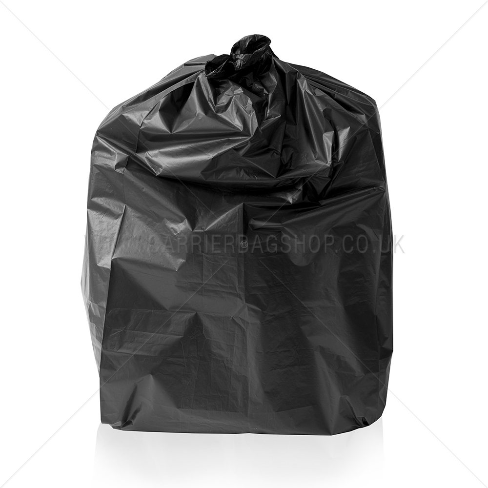 Premium Black Refuse Sacks Bin Bags Refuse Sacks
