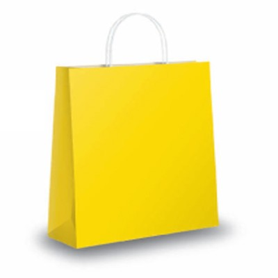 Clearance Yellow Paper Carrier Bags From Carrier Bag Shop