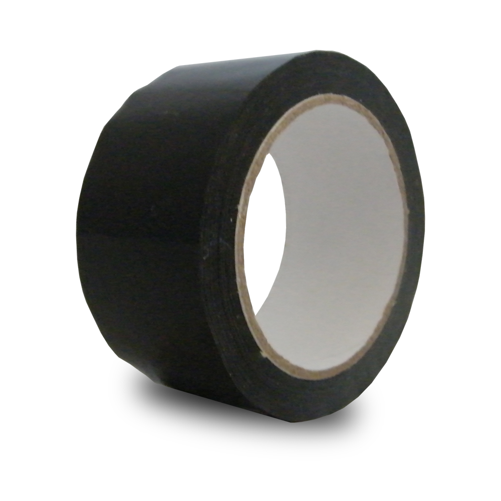 Black pp packing tape vinyl carrier bag shop