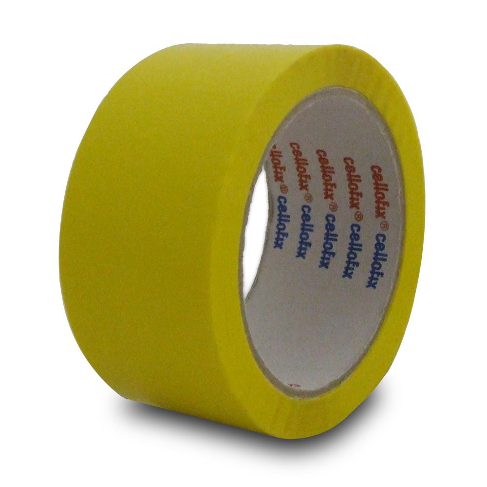 Yellow pp packing tape vinyl carrier bag shop