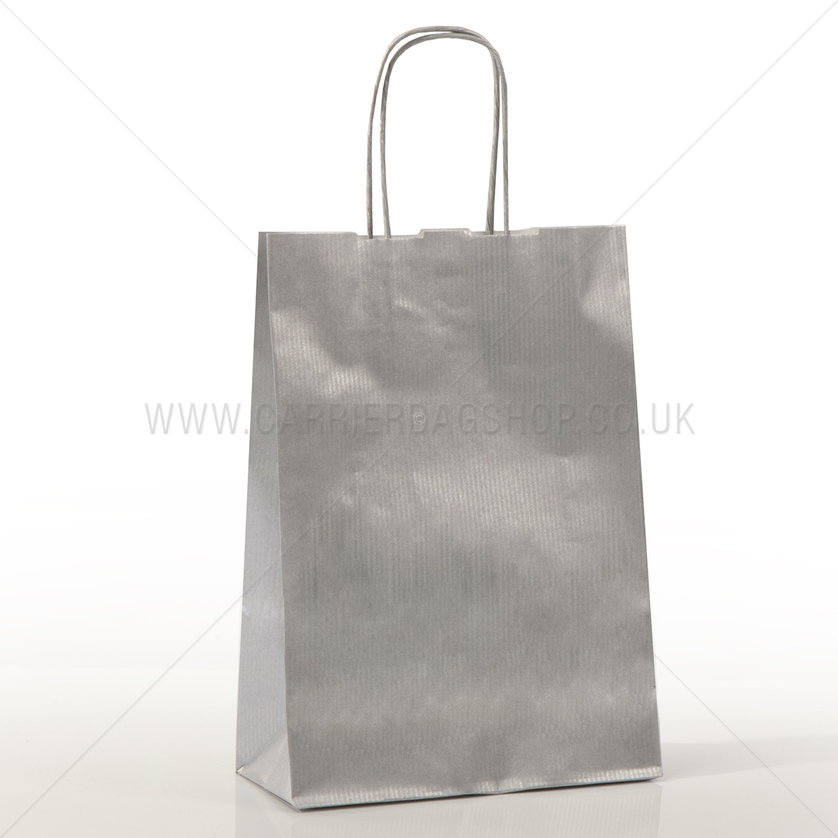 Silver Paper Carrier Bags Paper Bags Carrier Bag Shop