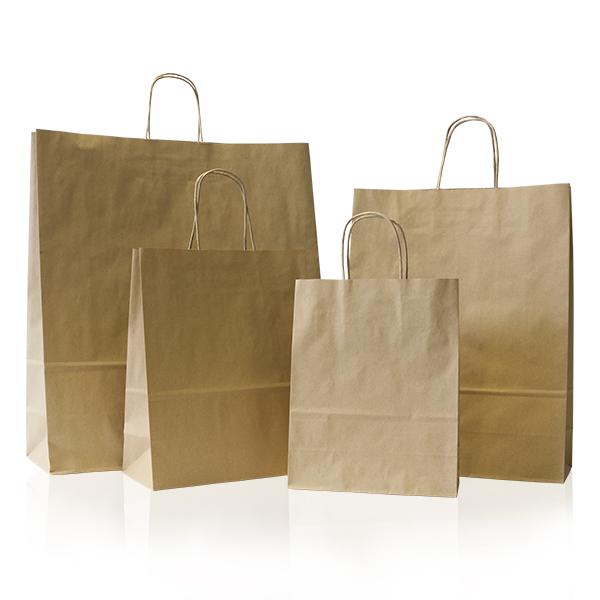 Buy plain brown paper bags
