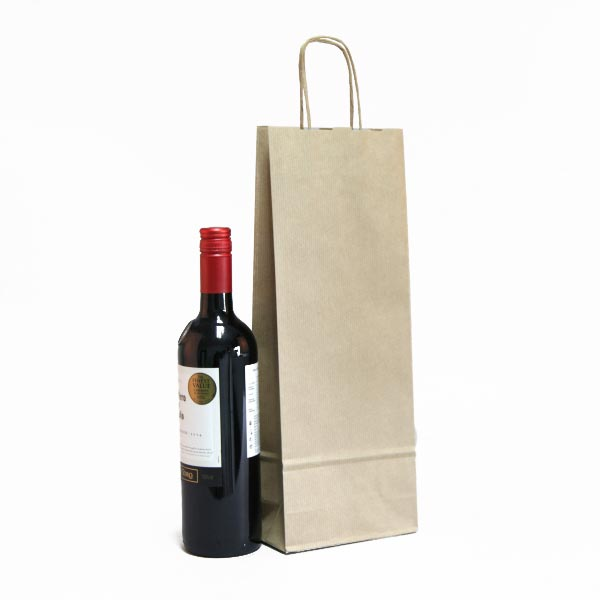 Brown Paper Bottle Bags Bottle Bags Carrier Bag Shop