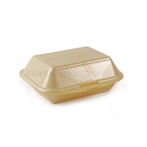 Champagne Polystyrene Take Away Boxes From Carrier Bag