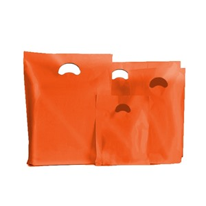 Orange Classic Plastic Carrier Bags [Standard Grade]