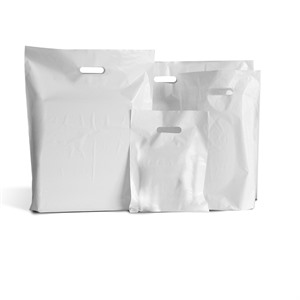 White Classic Plastic Carrier Bags [Standard Grade]