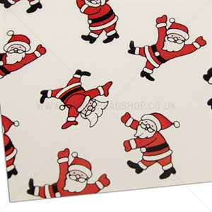 Father Christmas Gift Wrap Roll | Gift Packaging | Carrier Bag Shop