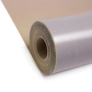 Silver Kraft Roll Wrapping Paper