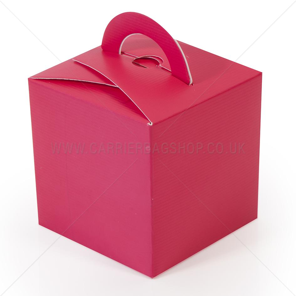 Mini Gift Boxes Fuchsia Gift Packaging Carrier Bag Shop