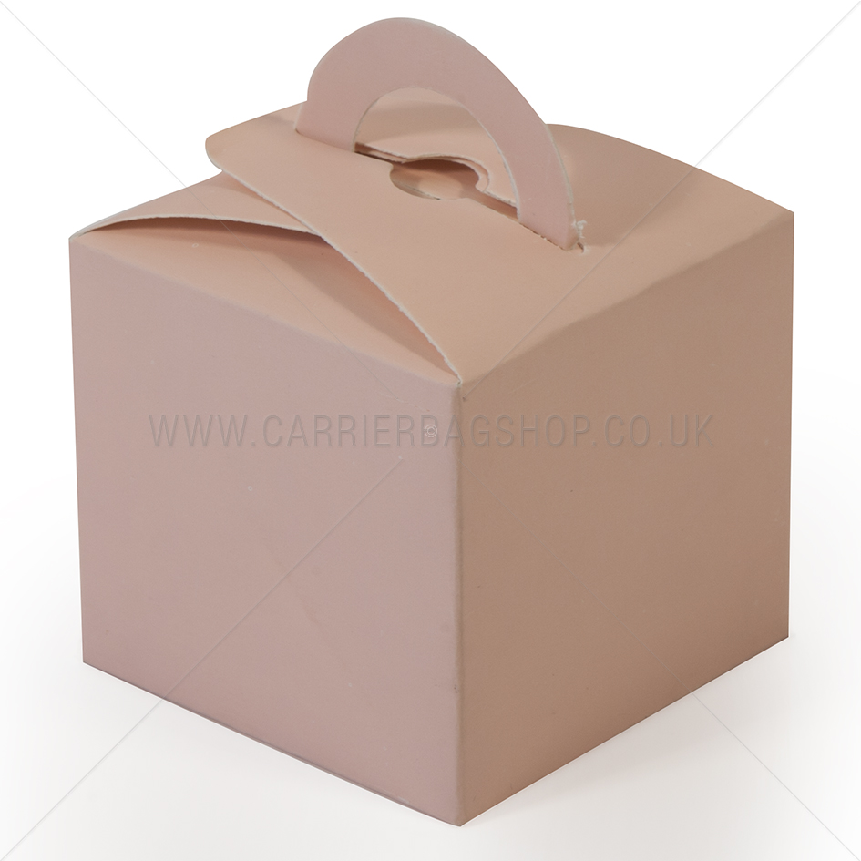 Baby Pink Mini Gift Boxes Gift Packaging Carrier Bag Shop