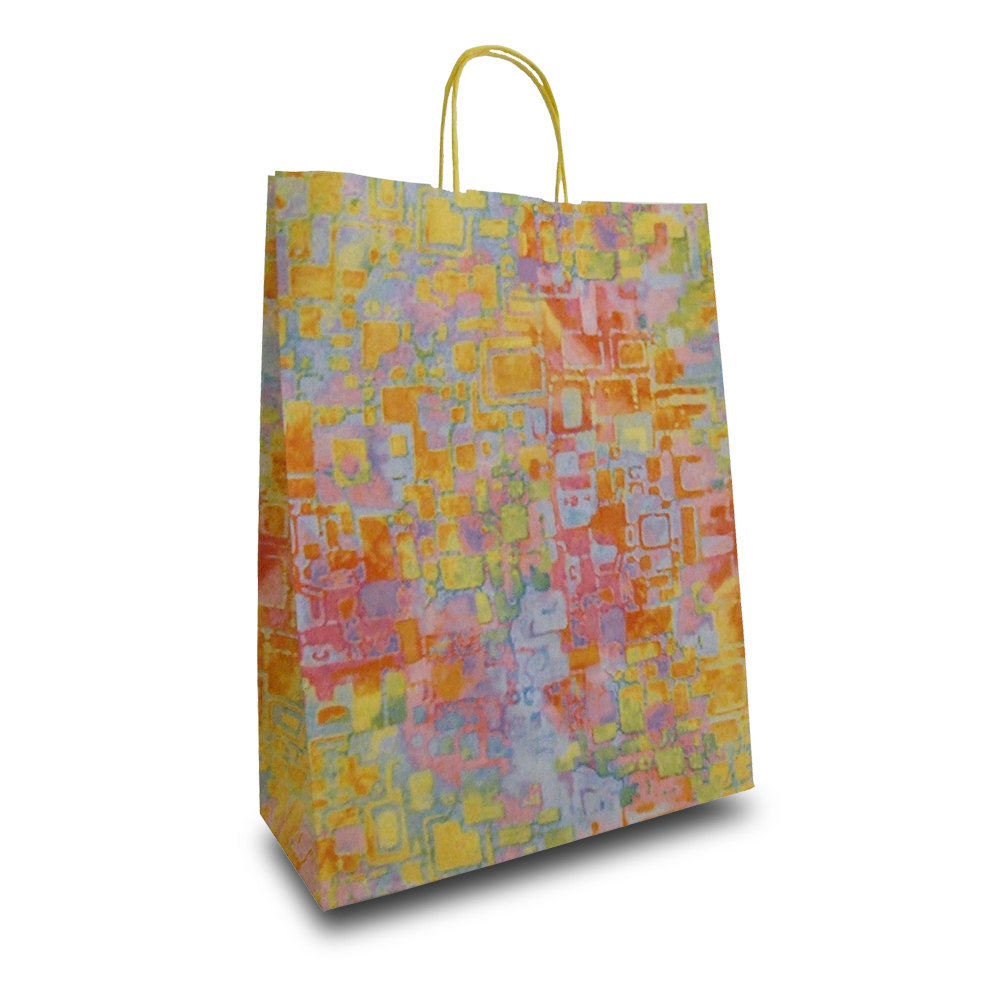 Pulse Design Paper Carrier Bags Paper Bags Carrier Bag