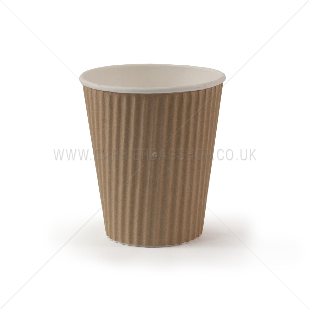 Brown Kraft Ripple Cups Catering Disposables Carrier