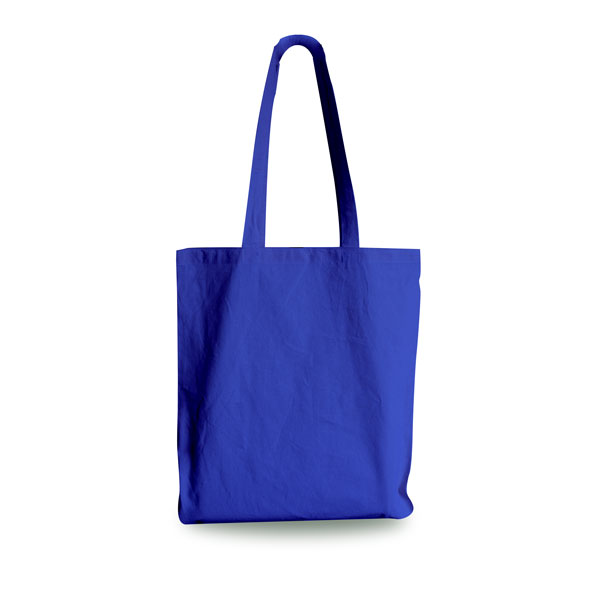 Royal Blue Cotton Shopping Carrier Bags From Carrier Bag Shop