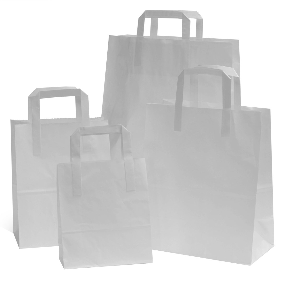 Strong Black Twisted Handle Paper Bags!Carrier//Kraft//Shop//Gift//Fashion//Party!
