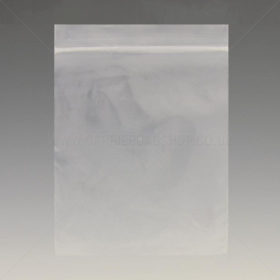 Plain Resealable Bags Grip Seal Bags Carrier Bag Shop