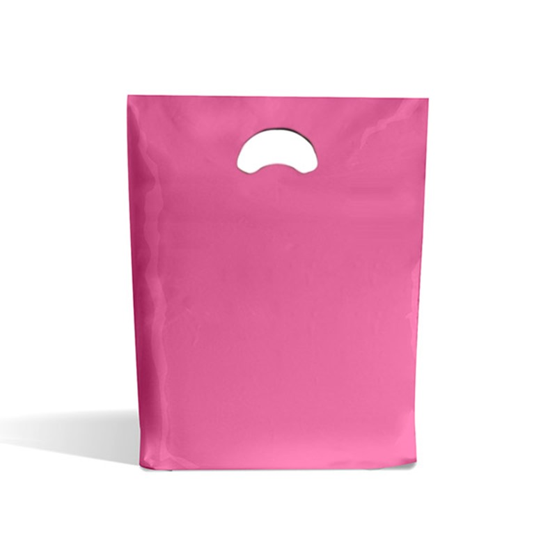 Buy Shocking Pink Plastic Carrier Bags | Polythene Bags