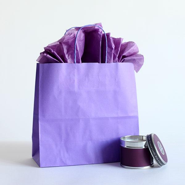 Lilac Paper Carrier Bags Paper Bags Carrier Bag Shop