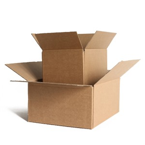 "Single Wall Cardboard Boxes - 12"" x 9"" x 7"""